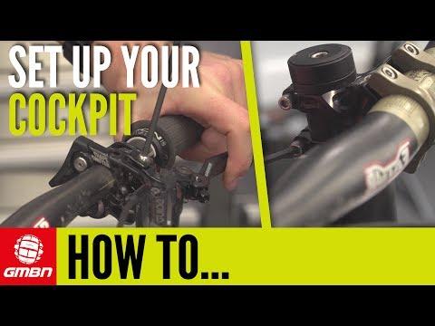 How To Set Up Your Cockpit On A Mountain Bike | Mountain Bike Maintenance