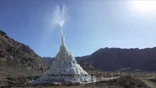 Ice Stupa Glaciers - Receding Himalayan Woes