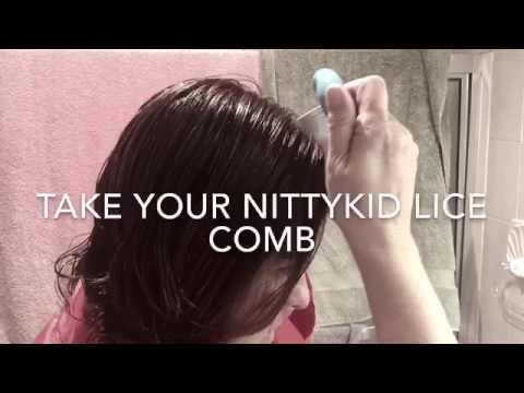 How to comb yourself for lice