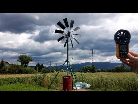Diy small windmill water pump