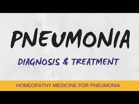 PNEUMONIA -Symptoms,Causes,Homeopathic Treatment,& Diagnonis