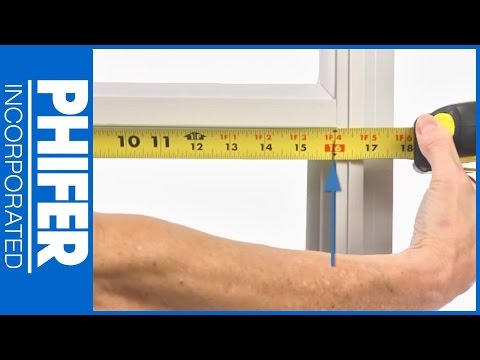 How To Measure Window For Screen Installation | Phifer Inc.