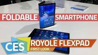 Royole FlexPai Foldable Smartphone First Look   a Smartphone and Tablet on the Same Device