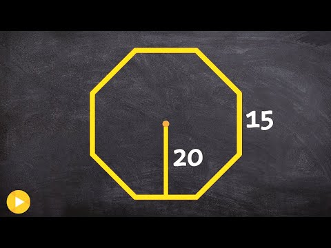 How do we find the area of a octagon (side lengths are not correct)
