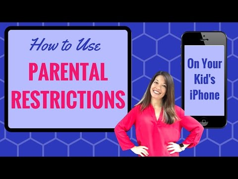 How to Use the Parental Restrictions on Your Kid's iPhone