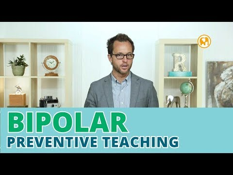 Helping Bipolar kids prevent problems using Preventive Teaching