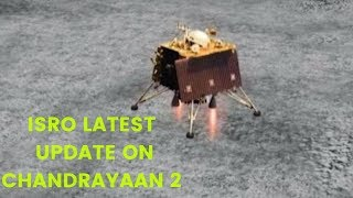 ISRO latest update on Chandrayaan 2, lander Vikram | NewsX