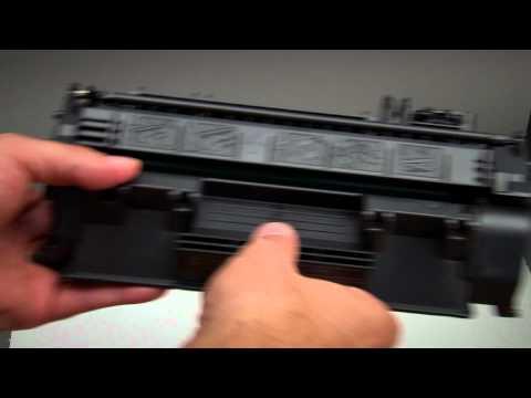 How to: Tonerkartusche wechseln beim HP Laserjet Pro 400 M401