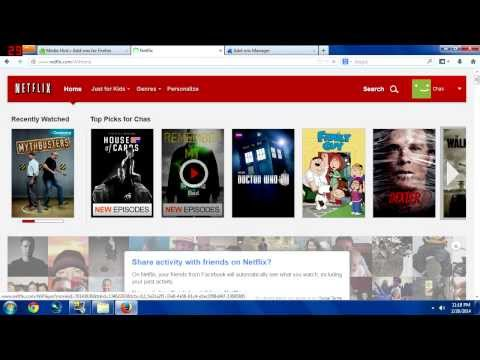 How to get American Netflix on PC! (WORKING MARCH, 2014)