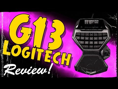 Logitech G13 Review - Change the Way You Game