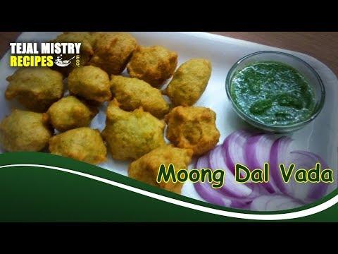 Moong Dal Vada Recipe | Moong Dal Pakoda | How To Make Mung Dal Vada