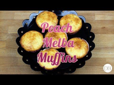 Peach Melba Muffins - Recipe [Delicious Food Adventures]