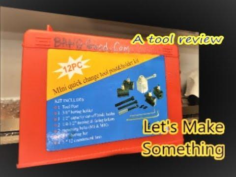 Mini Quick Change Tool Post Holder let's make something