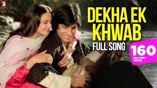 Dekha Ek Khwab Song, देखा एक ख्वाब, Silsila , Amitabh , Rekha , Kishore Kumar , Lata Mangeshkar