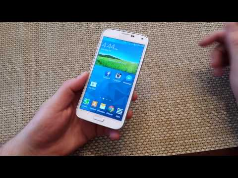 How to take a screenshot on the Samsung Galaxy S5, capture a screen shot picture