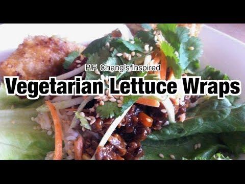 Vegetarian lettuce wraps like PF Chang's | Nik Scott
