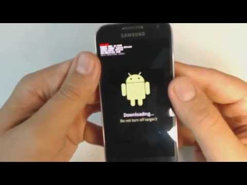 Samsung Galaxy S4 mini I9195 - How to put phone in download mode