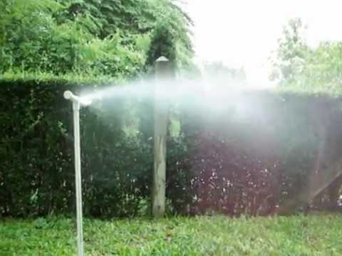 DIY Mini Sprinkler 180 Watering in Garden Lawn Misting