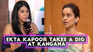 After Karan Johar, Has Ekta Kapoor Taken A Sly Dig At Kangana Ranaut? | SpotboyE