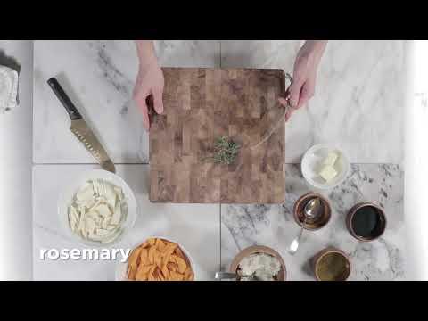 Vero Balsamic Roasted Carrots and Parsnips + Ricotta + Honey