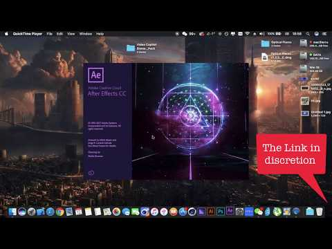How to install Optical Flare And Element 3D on Mac