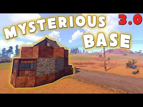 The Mysterious Pumpkin Base |Rust 3.0 Building