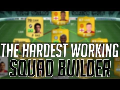 THE AFFORDABLE HIGH / HIGH WORKRATE HYBRID SQUAD (CHEAP)   FIFA 14 Ultimate Team Squad Builder