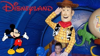 DISNEYLAND Park Fun Disney Characters Parade Toy Story Land Mickey Mouse Disney Princess