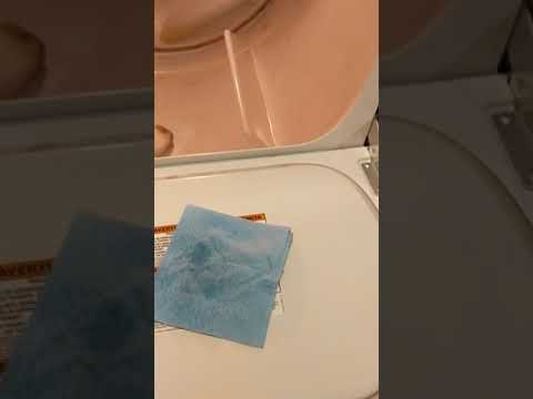 How to remove crayon from dryer