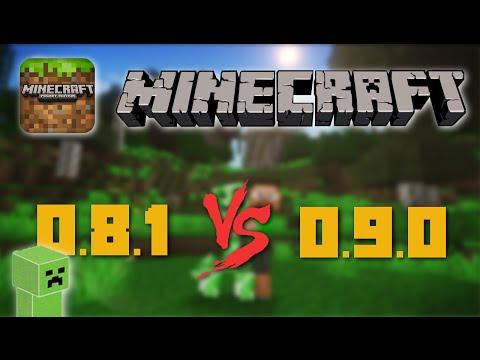 Minecraft Pocket Edition: 0.8.1 vs 0.9.x!  (iPhone, iPod, iPad)