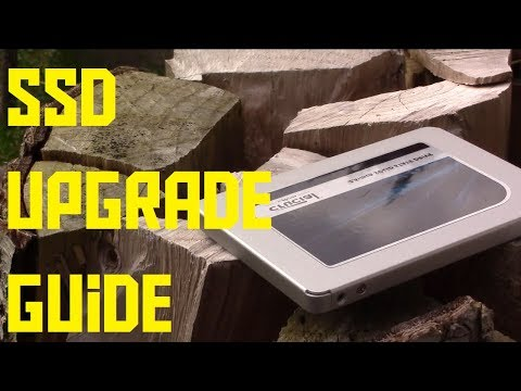 How to upgrade to an SSD without reinstalling windows (AKIO TV)