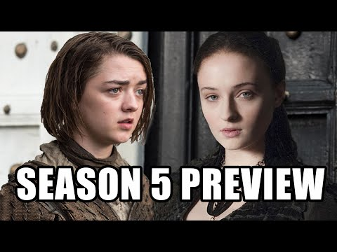 Game of Thrones Season 5 Preview - Maisie Williams, Sophie Turner, Tom Wlaschiha