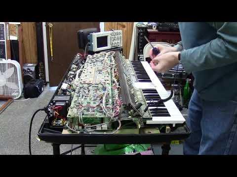 Dr. Dave Luce's Polymoog Teardown (by Synthpro)