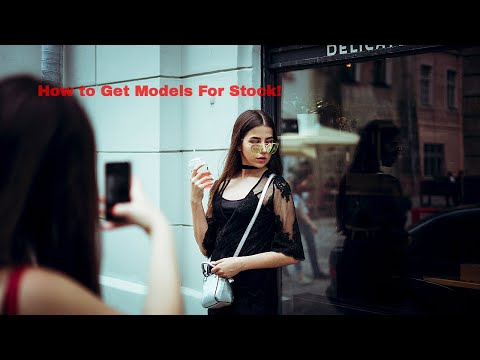 How To Get Models For Stock photo:Video