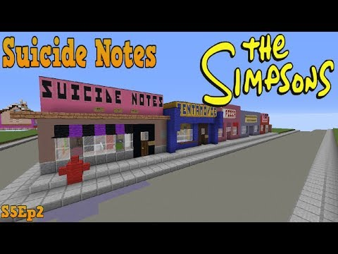 Minecraft Springfield S05: Suicide Notes!
