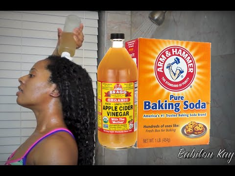 HAIR GROWTH WITH BAKING SODA & APPLE CIDER