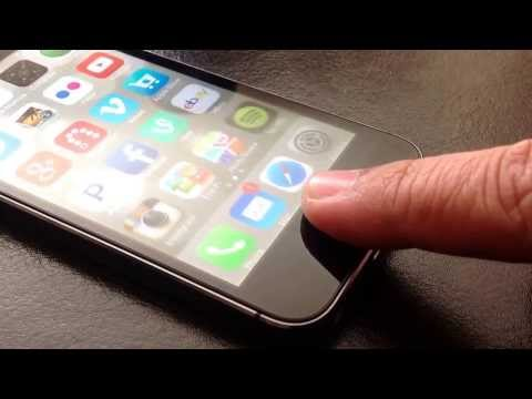 Wake & Unlock iPhone 5s using Touch ID
