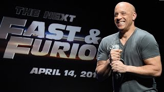 Vin Diesel Announces Fast and Furious 8 Release Date