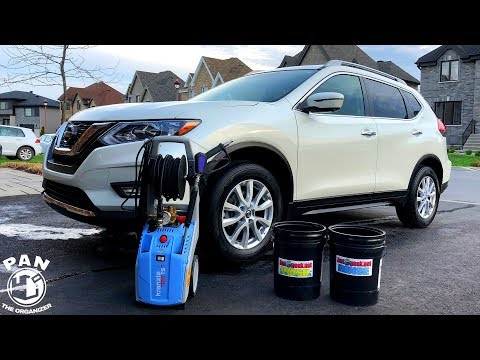 SPRING CLEANING CAR WASH TUTORIAL !!