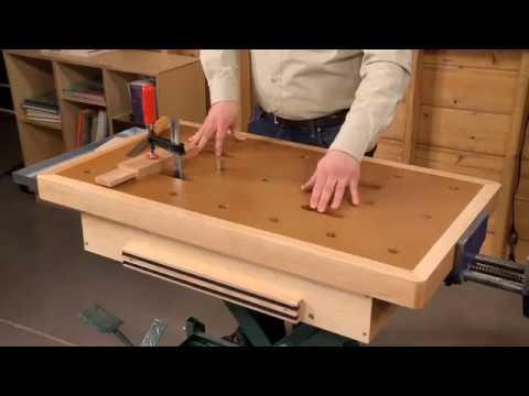 Inside Woodsmith Guild Edition 217: Scissor-Lift Workbench