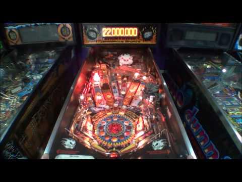 No Fear Dangerous sports Pinball Machine 1995