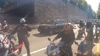 Road Rage: NYC Motorcycle Attack