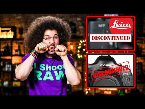 Canon & Leica DISCONTINUED + Sony's NEW Tech | Photo News Fix