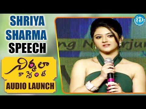 Xxx Mp4 Actress Shriya Sharma Cute Speech Nirmala Convent Nagarjuna Roshan Meka Shriya Sharma 3gp Sex