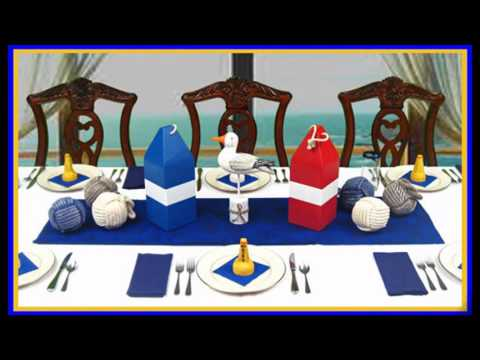 Wonderful Nautical party decorations
