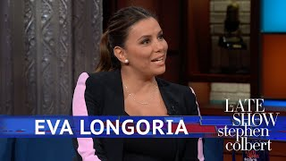 A Young Eva Longoria Told A Priest She Had No Sins To Confess