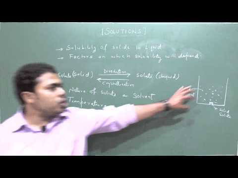 Chem Dev Solutions  Factors affecting Solubility of solids part1