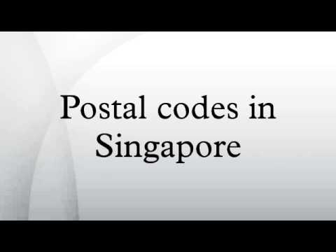 Postal codes in Singapore