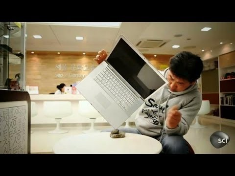 Seoul Man Finds His Center   Outrageous Acts of Science