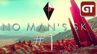 No Man's Sky Gameplay #1 - Let's Play No Mans Sky PS4 - Deutsch / German